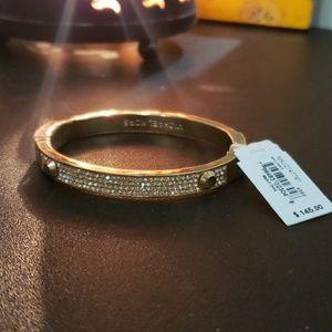 Michael Kors Brilliance Pave Hinged Bracelet